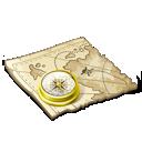 Работа с картами и пособиями